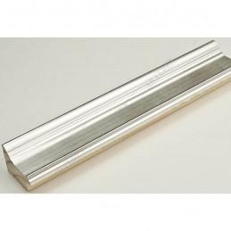 INK1815.620 42x28 - drewniana srebrna rama do obrazów i luster sample