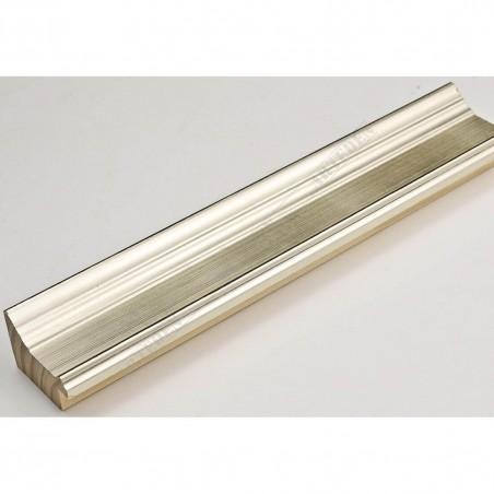 INK1815.624 42x28 - drewniana srebrna ocieplana rama do obrazów i luster sample