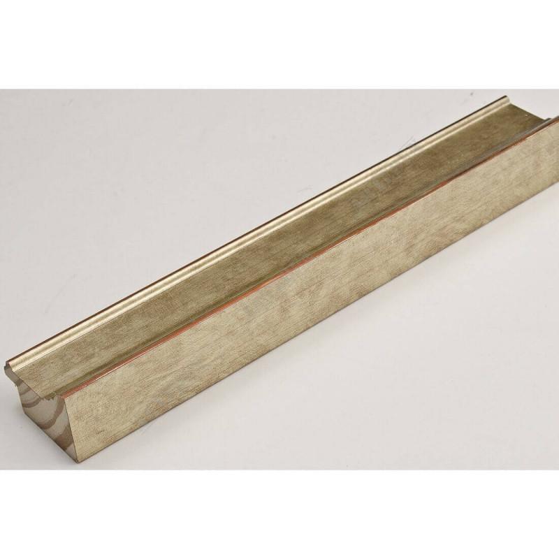 INK1815.640 42x28 - drewniana złota szampańska rama do obrazów i luster