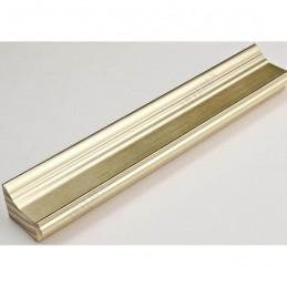INK1815.720 42x28 - drewniana jasno złota rama do obrazów i luster sample