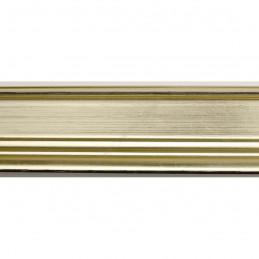 INK1815.720 42x28 - drewniana jasno złota rama do obrazów i luster sample1