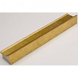 INK1815.740 42x28 - drewniana złota dukatowa rama do obrazów i luster