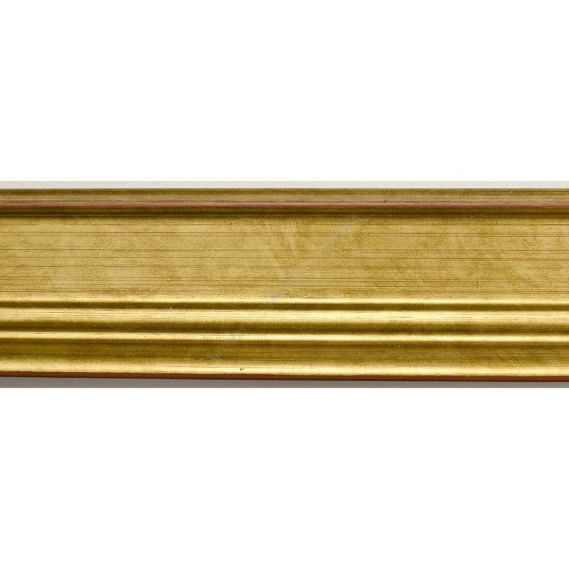 INK1815.740 42x28 - drewniana złota dukatowa rama do obrazów i luster sample1