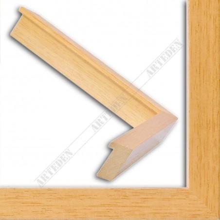 INK2141.102 20x40 - mała jasne drewno blejtram ramka do zdjęć i obrazków sample