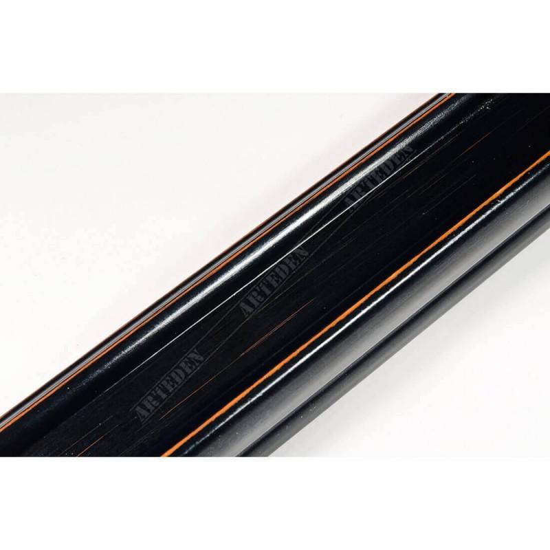 INK2557.471 40x30 - drewniana czarna rama do obrazów i luster sample1