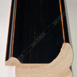 INK2557.471 40x30 - drewniana czarna rama do obrazów i luster sample