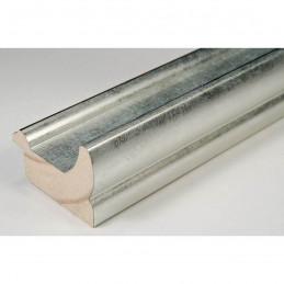 INK2557.653 40x30 - drewniana srebrna rama do obrazów i luster