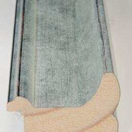 INK2557.653 40x30 - drewniana srebrna rama do obrazów i luster sample