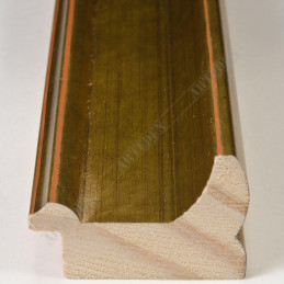 INK2557.740 40x30 - drewniana złota rama do obrazów i luster sample