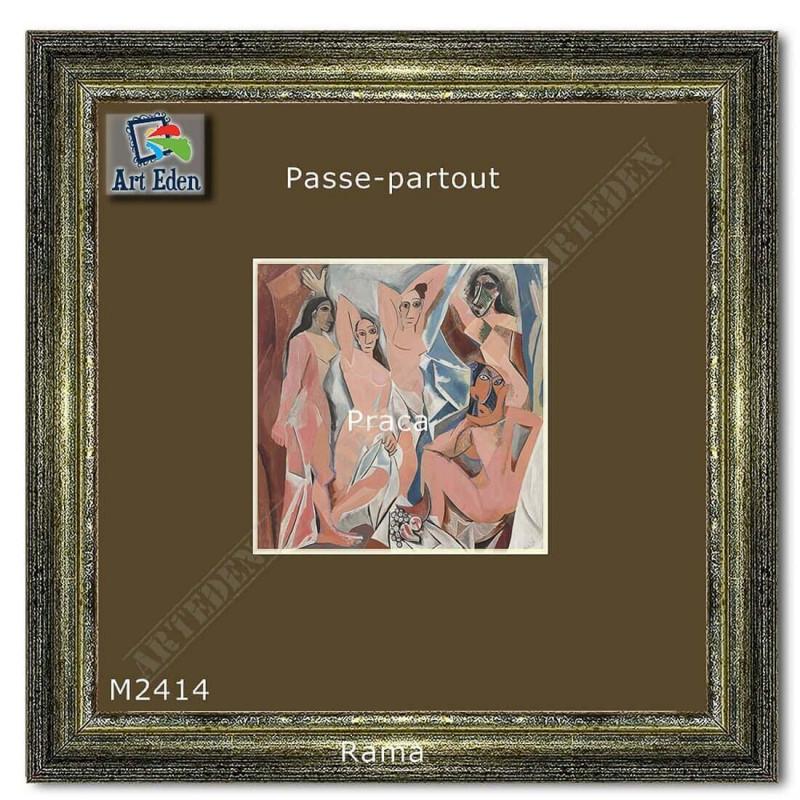 Karton Passe-Partout Moorman brązowy M2414 sample