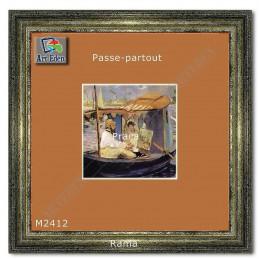Karton Passe-Partout Moorman brązowy M2412 sample