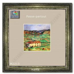 Karton Passe-Partout Moorman ecru M2213 sample