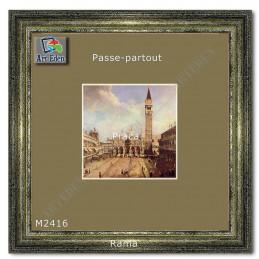 Karton Passe-Partout Moorman zielono brązowy M2416 sample