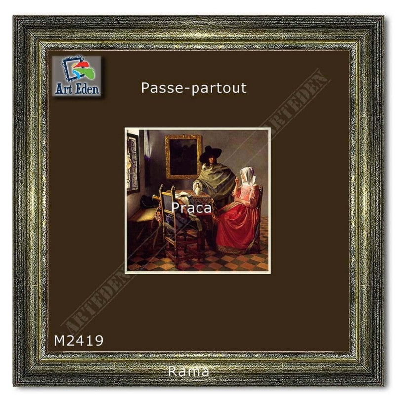 Karton Passe-Partout Moorman brązowy M2419 sample