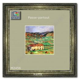 Karton Passe-Partout Moorman pistacjowy M2456 sample