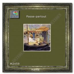 Karton Passe-Partout Moorman zielono brązowy M2459 sample