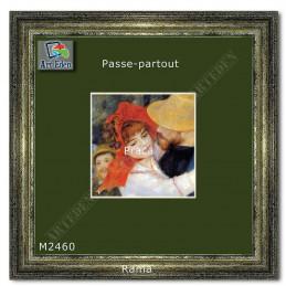 Karton Passe-Partout Moorman ciemna jesienna zieleń M2460 sample1