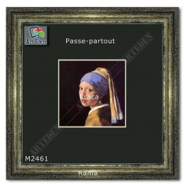 Karton Passe-Partout Moorman ciemna zieleń M2461 sample