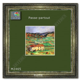 Karton Passe-Partout Moorman ciemna zieleń M2465 sample