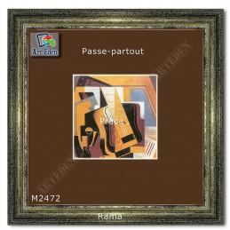 Karton Passe-Partout Moorman brązowy M2472 sample