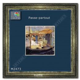 Karton Passe-Partout Moorman niebieski M2473 sample