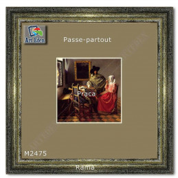 Karton Passe-Partout Moorman beżowy M2475 sample