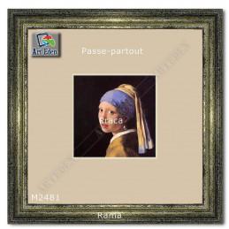 Karton Passe-Partout Moorman ecru M2481 sample