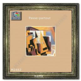 Karton Passe-Partout Moorman ecru M2482 sample