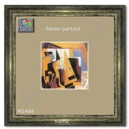 Karton Passe-Partout Moorman pistacjowy M2488 sample