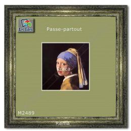 Karton Passe-Partout Moorman jasny groszek M2489 sample
