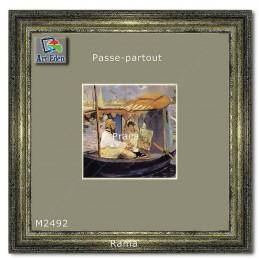Karton Passe-Partout Moorman popielaty M2492 sample