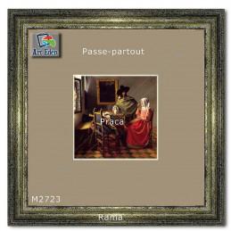 Karton Passe-Partout Moorman ciemny beżowy M2723