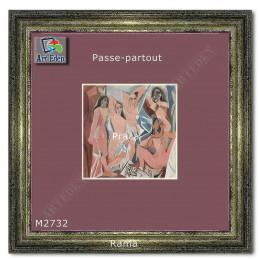 Karton Passe-Partout Moorman jasny fioletowy M2732 sample