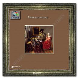 Karton Passe-Partout Moorman jasny brązowy M2733 sample