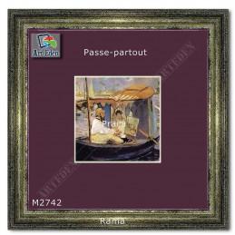 Karton Passe-Partout Moorman fioletowy M2742 sample