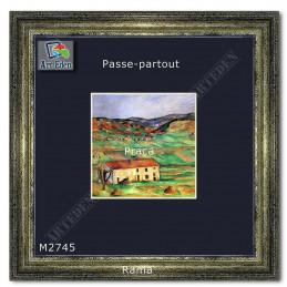 Karton Passe-Partout Moorman granatowy M2745 sample