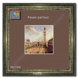 Karton Passe-Partout Moorman popielato brązowy M2749 sample