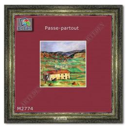 Karton Passe-Partout Moorman ciemny różowy M2774 sample