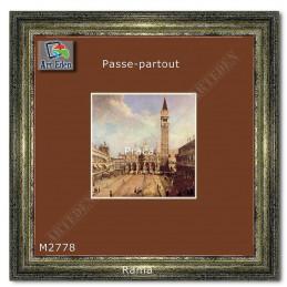 Karton Passe-Partout Moorman brązowy M2778 sample