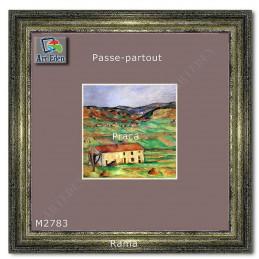 Karton Passe-Partout Moorman fioletowy M2783 sample