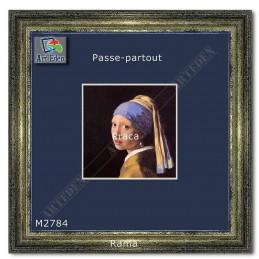 Karton Passe-Partout Moorman modrakowy M2784 sample