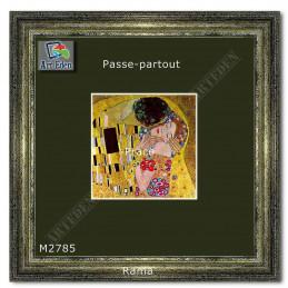 Karton Passe-Partout Moorman ciemno zielony M2785 sample