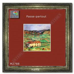 Karton Passe-Partout Moorman czerwony M2788 sample