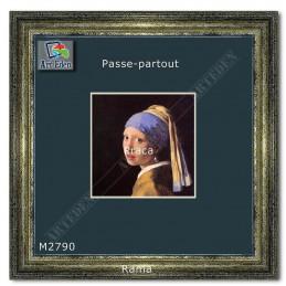 Karton Passe-Partout Moorman granatowy M2790 sample