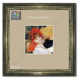 Karton Passe-Partout Moorman marmurek ecru M2793 sample