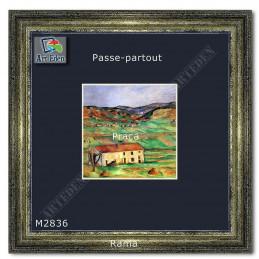 Karton Passe-Partout Moorman granatowy M2836 sample