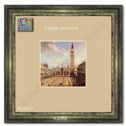 Karton Passe-Partout Moorman ecru M2837 sample
