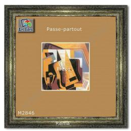 Karton Passe-Partout Moorman beżowo brązowy M2846 sample