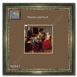 Karton Passe-Partout Moorman brązowy M2847 sample