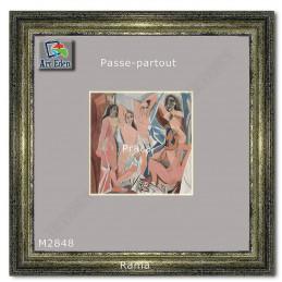 Karton Passe-Partout Moorman popielaty M2848 sample